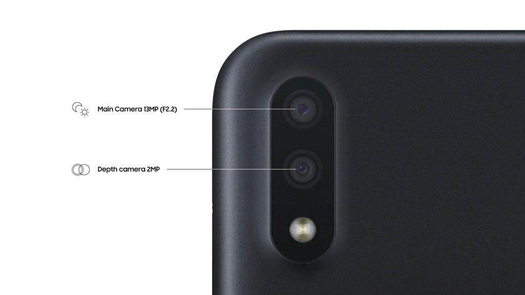 دوربین گوشی موبایل سامسونگ Samsung Galaxy A01