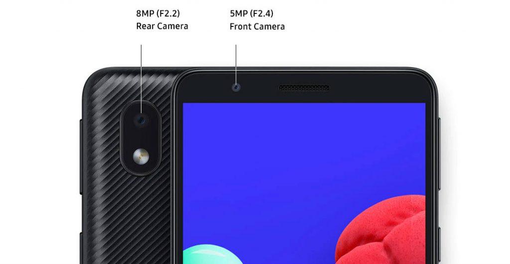 دوربین گوشی موبایل سامسونگ Samsung Galaxy A01 Core
