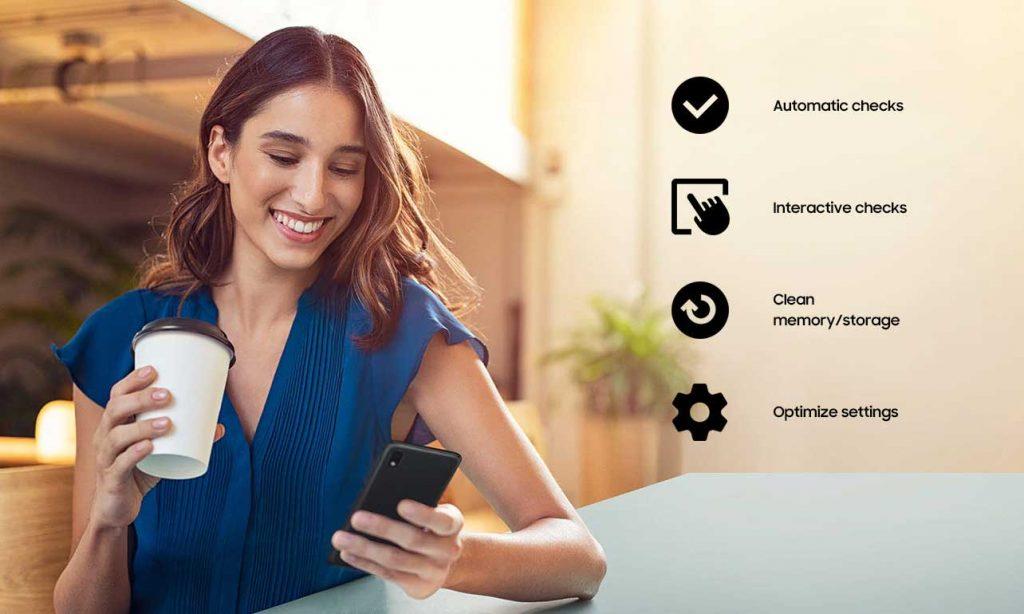 رابط کاربری گوشی موبایل سامسونگ Samsung Galaxy