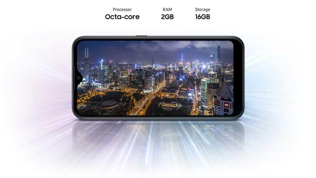 عملکرد گوشی موبایل سامسونگ Samsung Galaxy A01