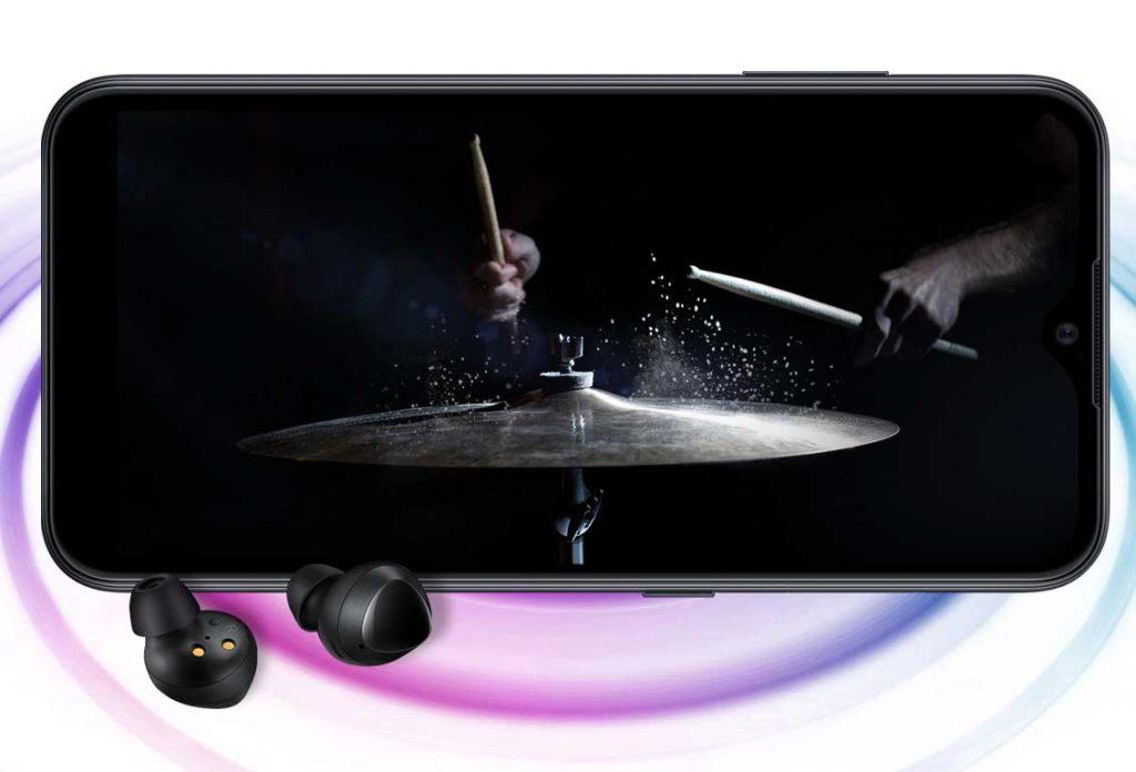 صدای گوشی موبایل سامسونگ Samsung Galaxy A01