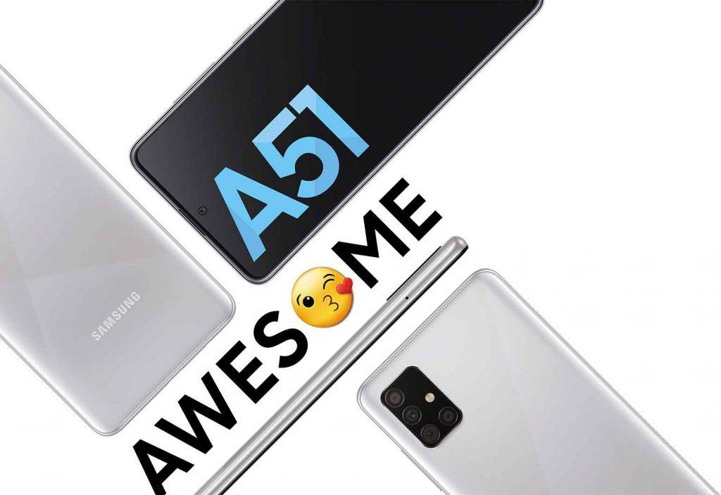 خرید اینترنتی گوشی موبایل سامسونگ Samsung Galaxy A51 از فروشگاه اینترنتی آوند موبایل