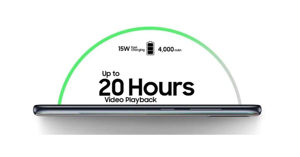 باتری گوشی موبایل سامسونگ Samsung Galaxy A51