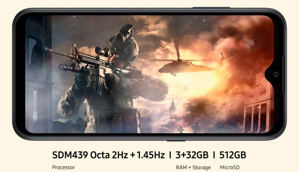 عملکرد گوشی موبایل سامسونگ Samsung Galaxy M01