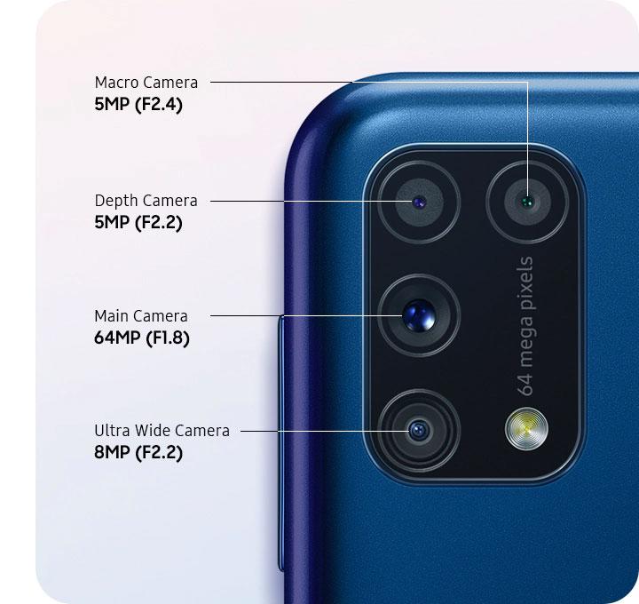 دوربین گوشی موبایل سامسونگ Samsung Galaxy M31
