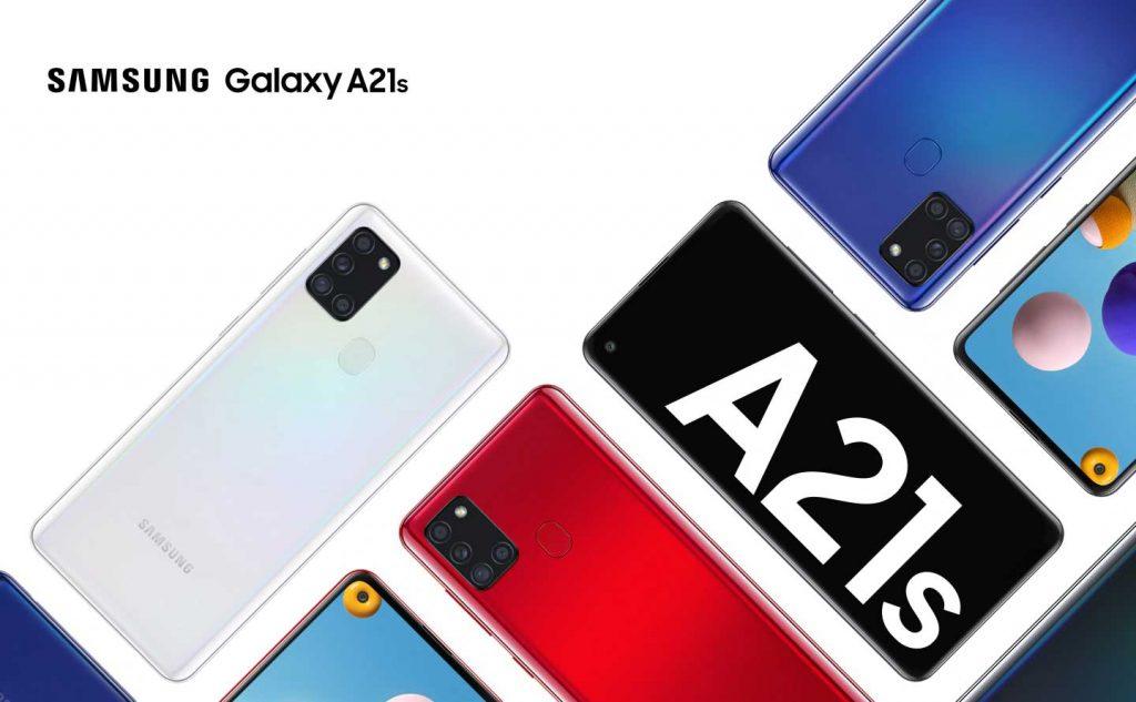 رنگهای گوشی موبایل سامسونگ Samsung Galaxy A21s