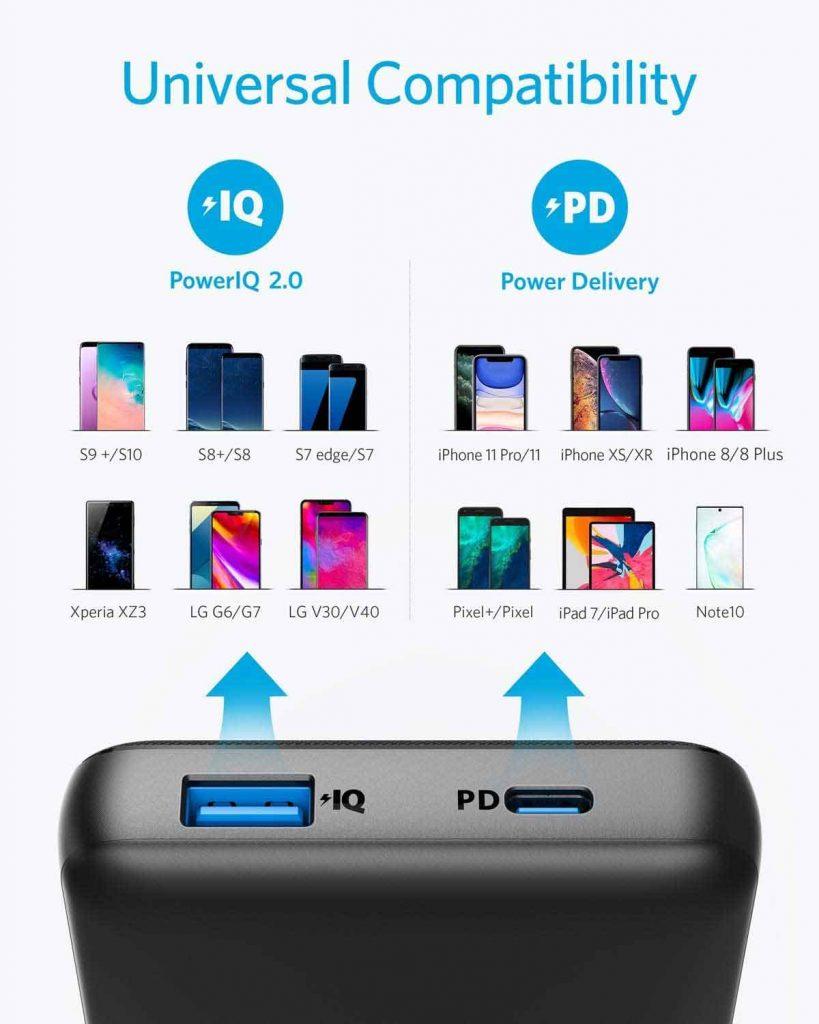 خرید اینترنتی پاوربانک انکر Anker A1281 از فروشگاه اینترنتی آوند موبایل