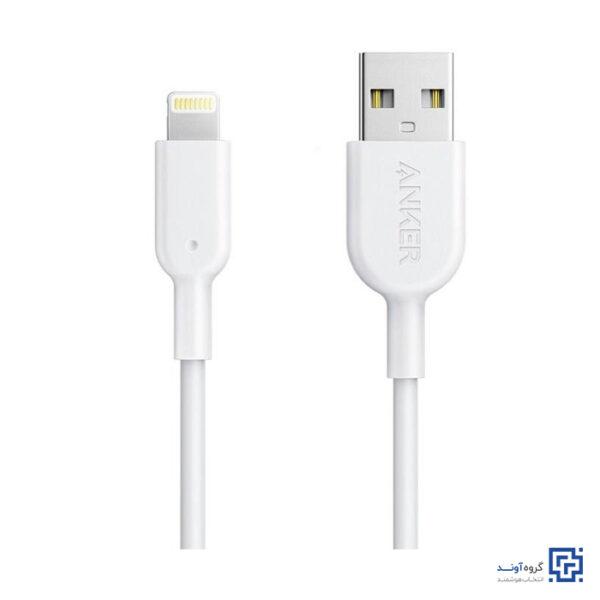 کابل تبدیل USB به Lightning انکر مدل A8432 PowerLine 2 طول 0.9 متر
