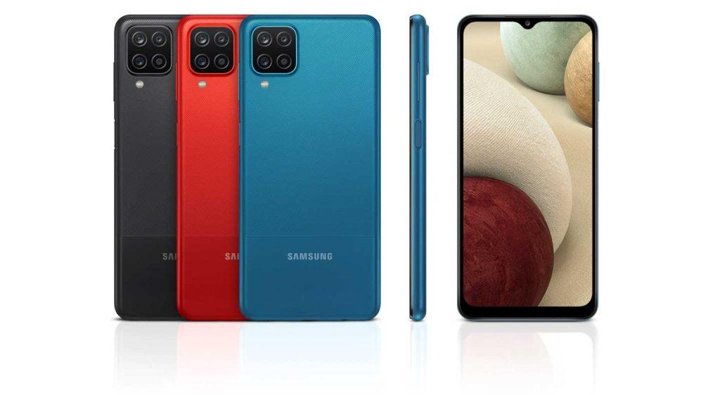 رنگهای گوشی موبایل سامسونگ Samsung Galaxy A12