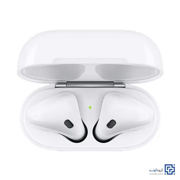 هدفون بی سیم اپل مدل AirPods 2 Normal