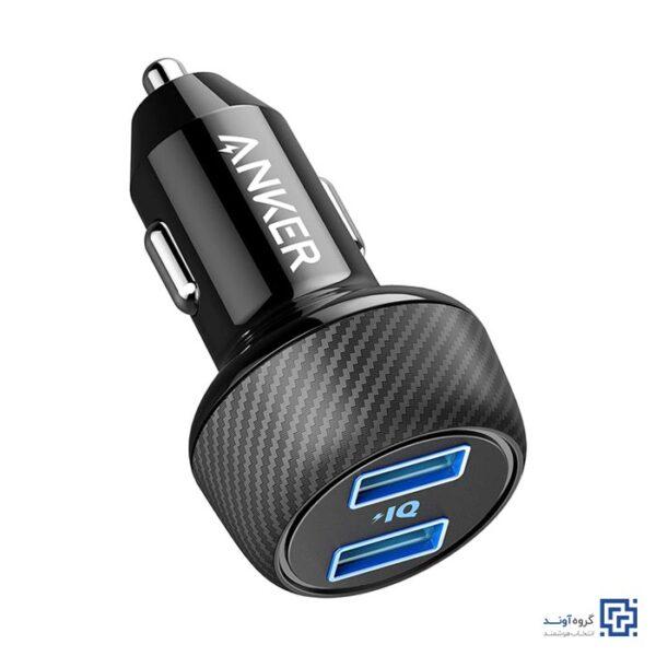 شارژر فندکی انکر مدل A2212 PowerDrive Elite 2 Ports