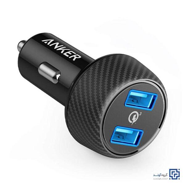 شارژر فندکی انکر مدل A2228 PowerDrive Speed 2 Ports