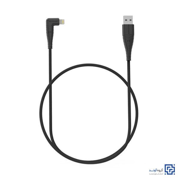 کابل تبدیل USB به Lightning راوپاور مدل RP-CB013 طول 0.9 متر