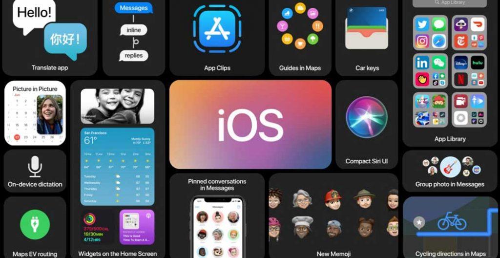 آشنایی با ویژگی های IOS 14