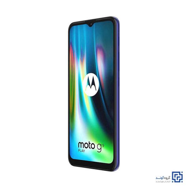 خرید اینترنتی گوشی موبایل موتورولا Motorola Moto G9 Play از فروشگاه اینترنتی آوند موبایل