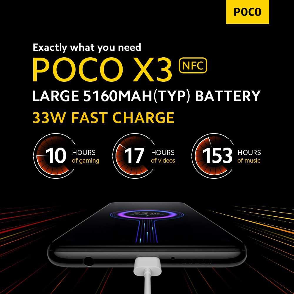 باتری گوشی موبایل شیائومی Xiaomi Poco X3