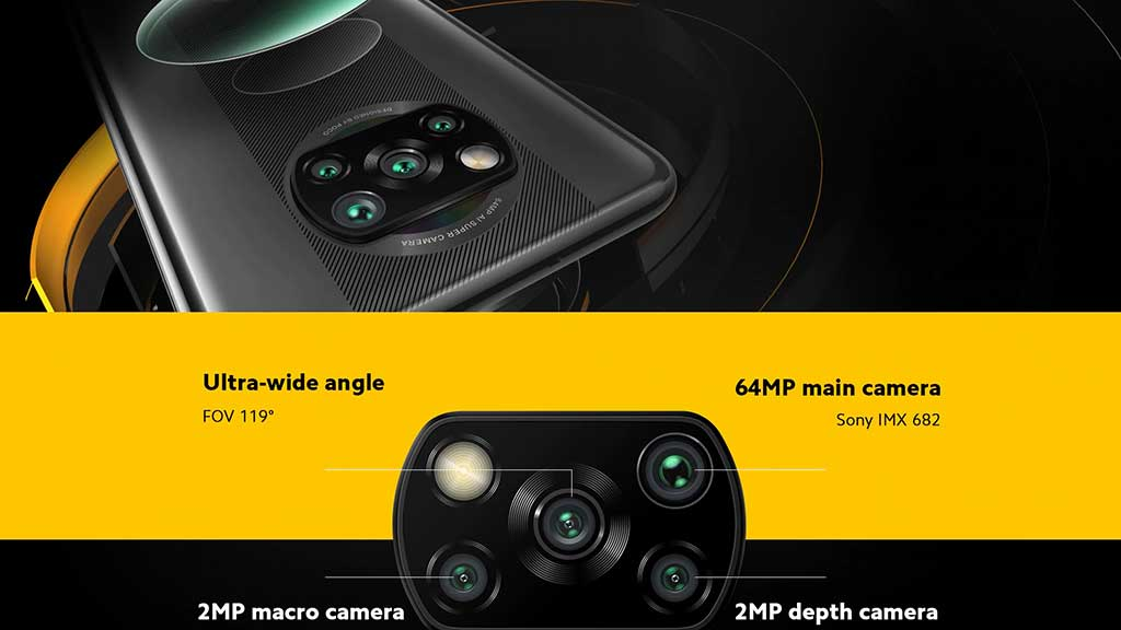 دوربین گوشی موبایل شیائومی Xiaomi Poco X3