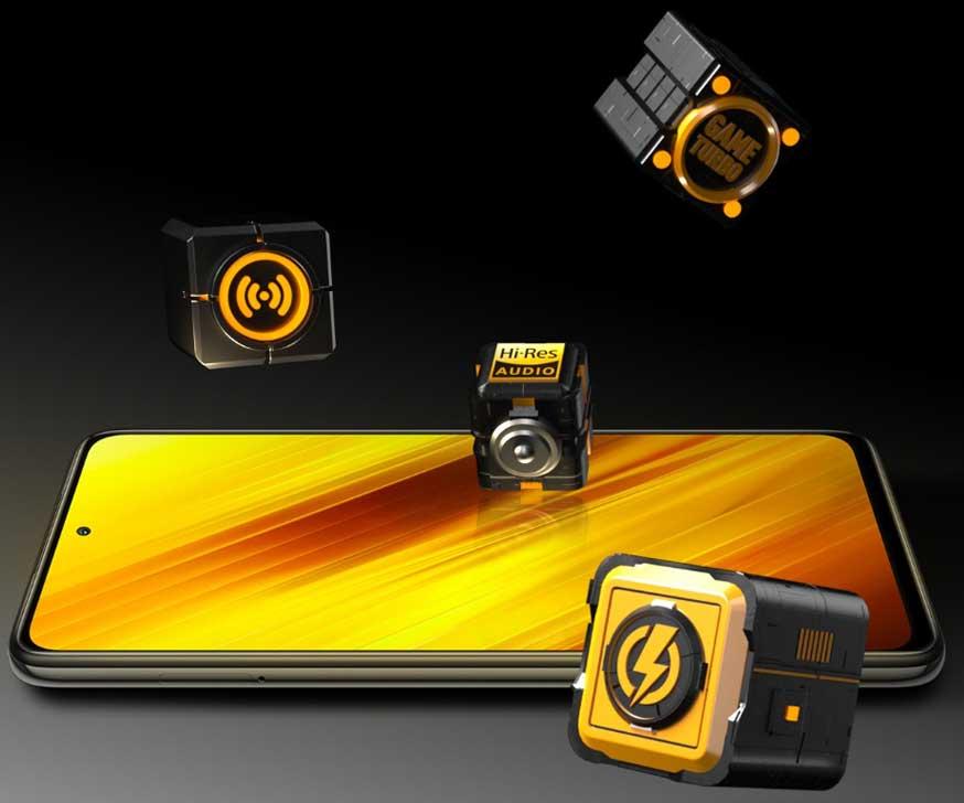 اسپیکر گوشی موبایل شیائومی Xiaomi Poco X3