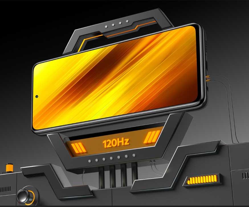 صفحه نمایش گوشی موبایل شیائومی Xiaomi Poco X3