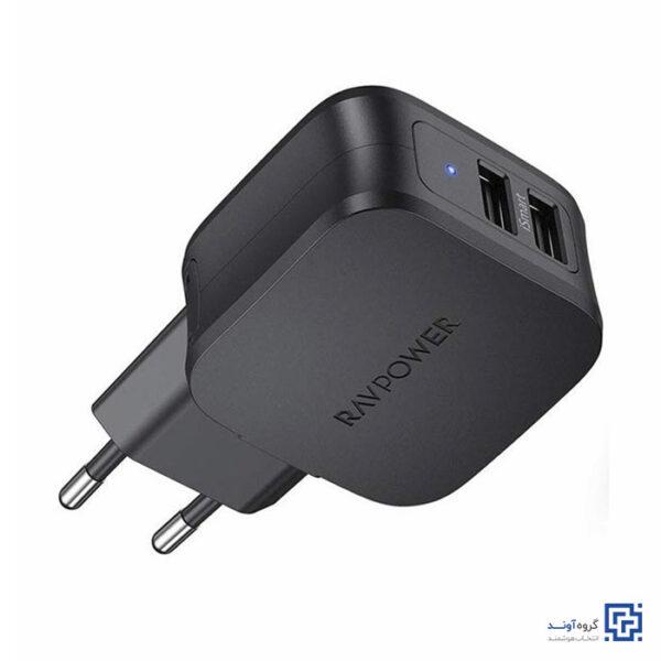 خرید اینترنتی شارژر دیواری راوپاور RP-PC121 از فروشگاه اینترنتی آوند موبایل