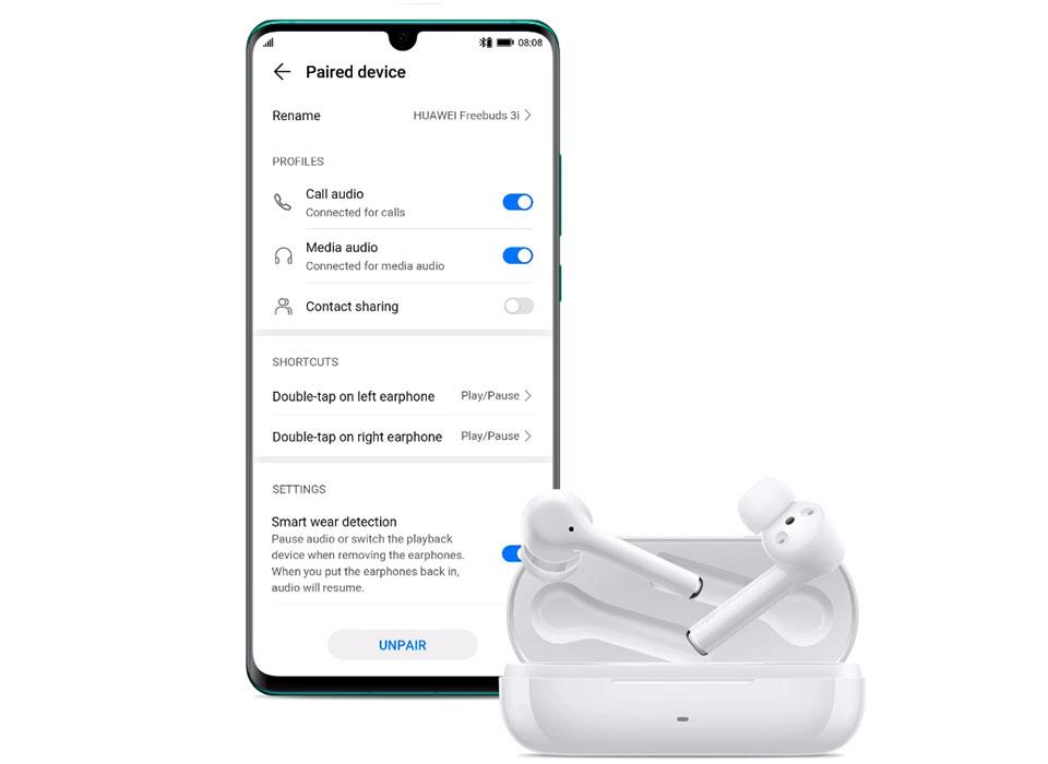 بررسی و خرید هدفون بی سیم هوآوی FreeBuds 3i در فروشگاه اینترنتی آوند موبایل