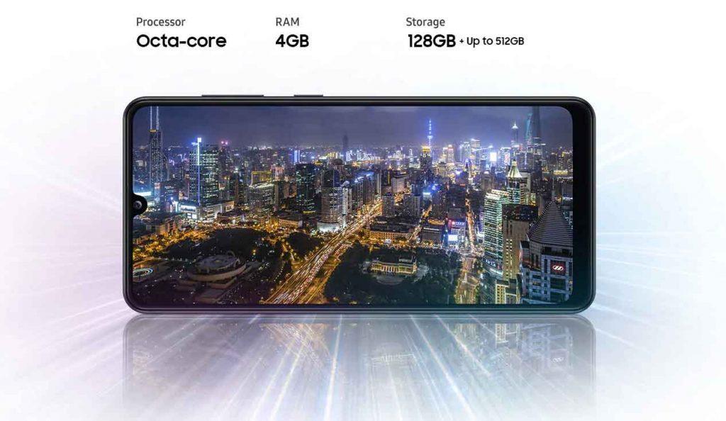 عملکرد گوشی موبایل سامسونگ Samsung Galaxy A31