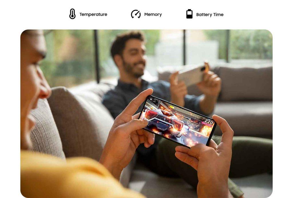 عملکرد گوشی موبایل سامسونگ Samsung Galaxy A71