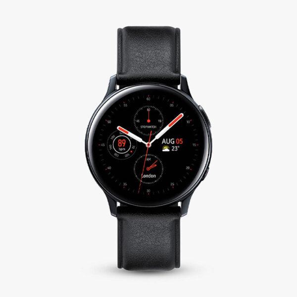 ساعت هوشمند سامسونگ مدل Galaxy Watch Active 2 40mm Leather Band
