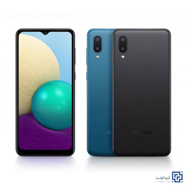 خرید اینترنتی گوشی موبایل سامسونگ Samsung Galaxy A02 از فروشگاه اینترنتی آوند موبایل