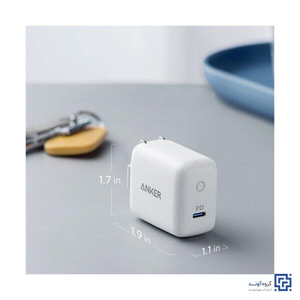 شارژر دیواری انکر مدل 1 A2019 Power Port PD