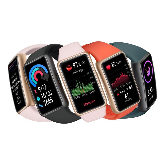خرید اینترنتی دستبند سلامتی هواوی Huawei Band 6 از فروشگاه اینترنتی آوند موبایل