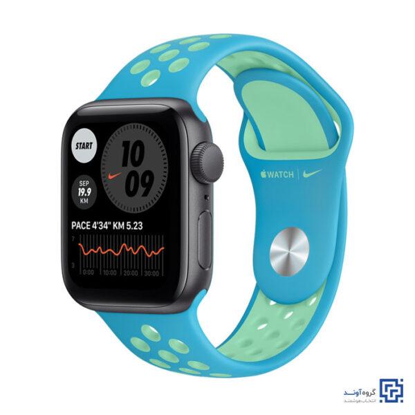ساعت هوشمند اپل با بند نایک اسپرت Apple Watch SE 40 mm With Nike Sport Band