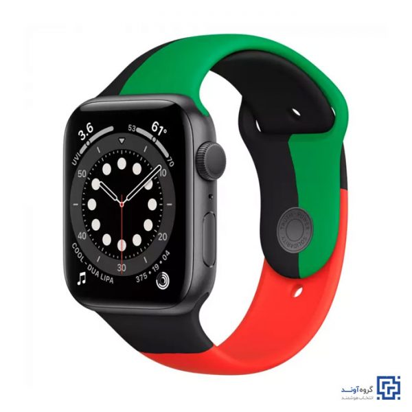 Apple Watch Series 6 44mm With Black Unity Sport Band