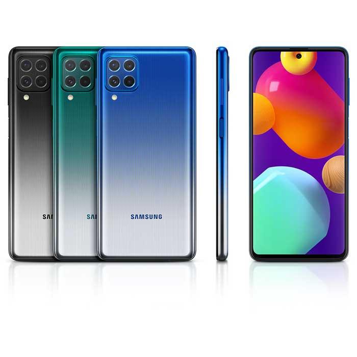 طراحی و رنگ بندی گوشی موبایل سامسونگ Samsung Galaxy M62